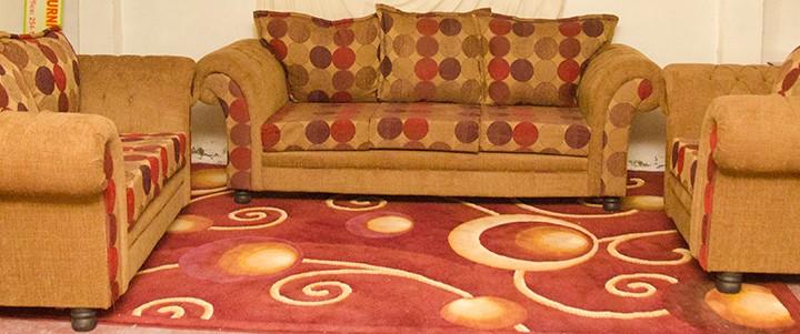 Ashley 1-2-3 Sofa Suite