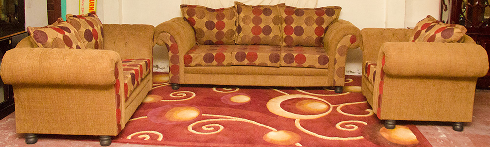 Ashley 1-2-3 Sofa Suite