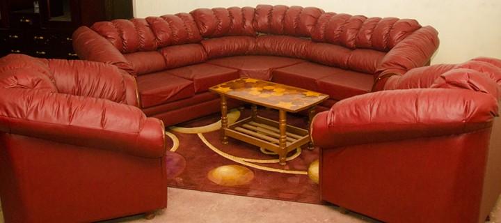 Dian Circle Sofa Suite