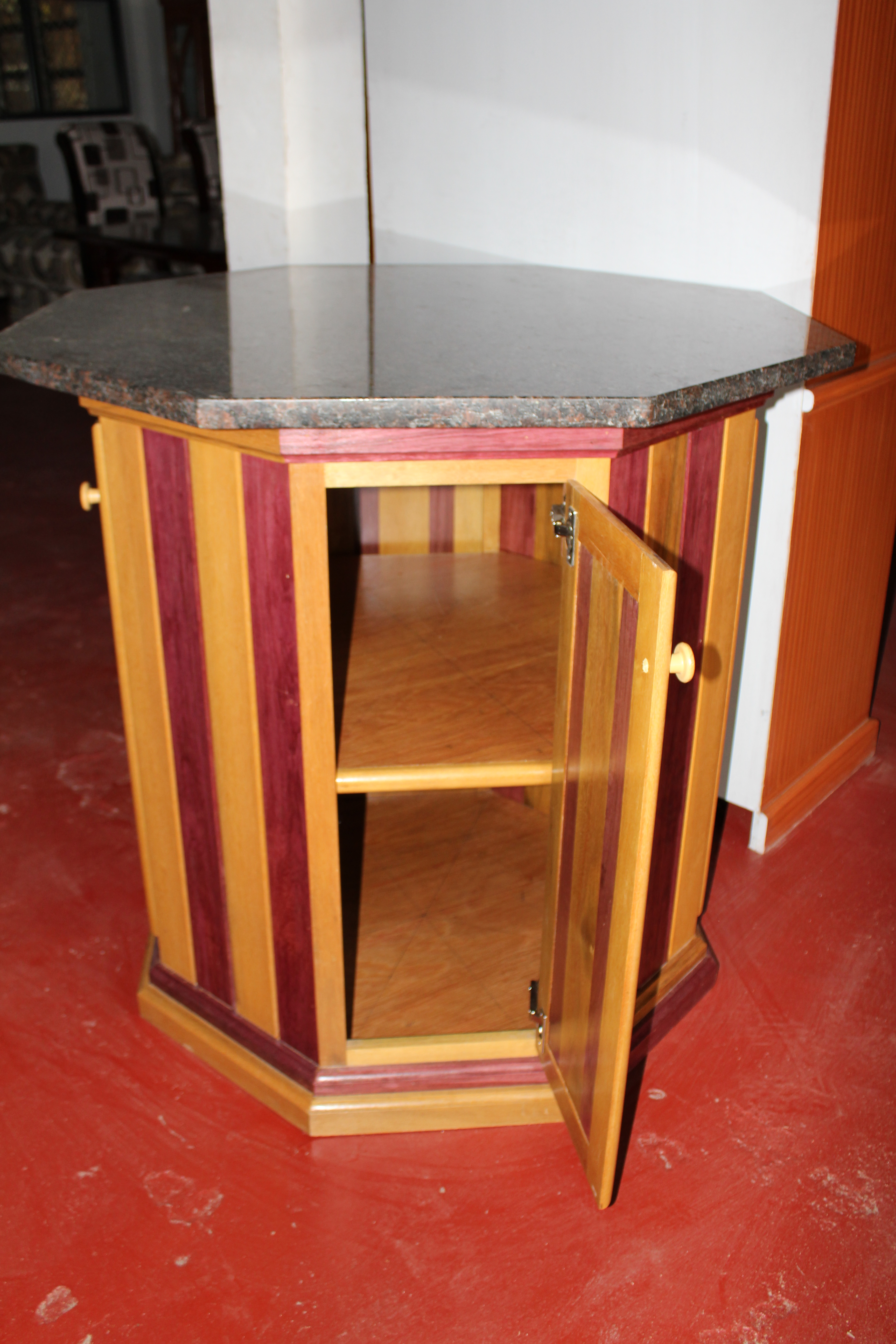 purple heart wood furniture. Made With Greenheart And Purpleheart Wood Has A Granite Top. Purple Heart Furniture