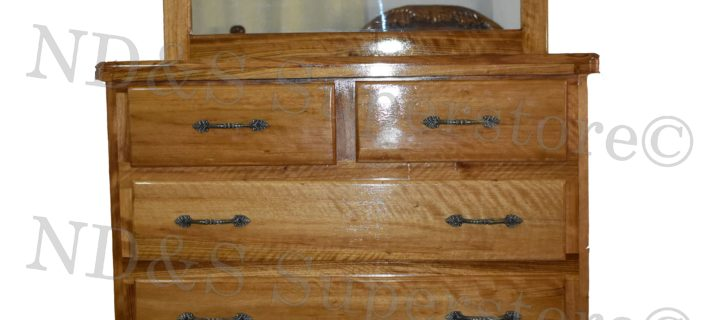 Hububalli chest of drawer with mirror