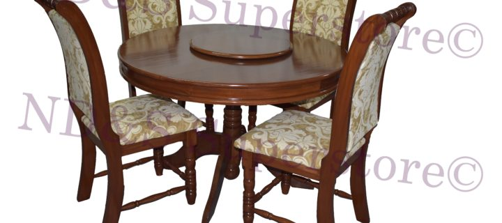 Lazy Susan Dinette Set