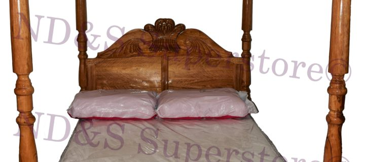Queen Bed With Poles