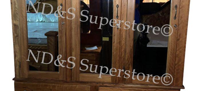 3-Doors Hububalli Wardrobe