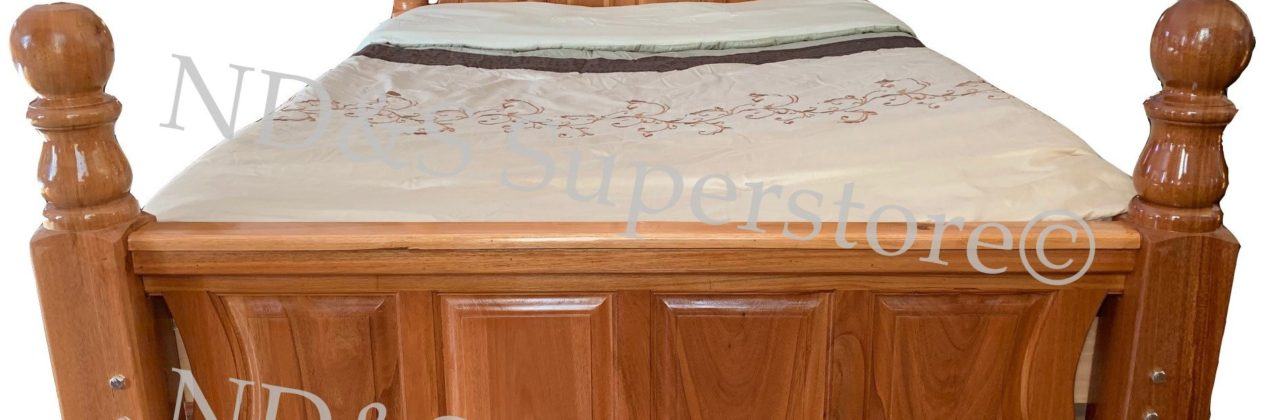 Curved Panel Bed