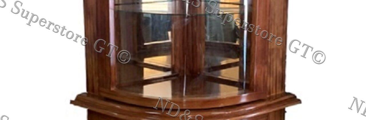Corner Crystal Cabinet